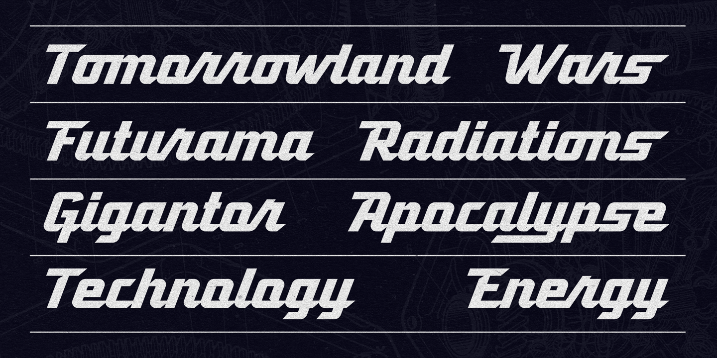 Atomicaboy Regular Font preview